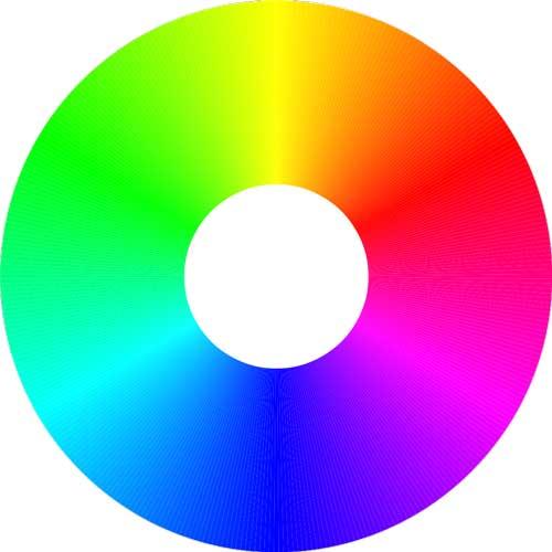 تاثیر رنگ ها در سایت